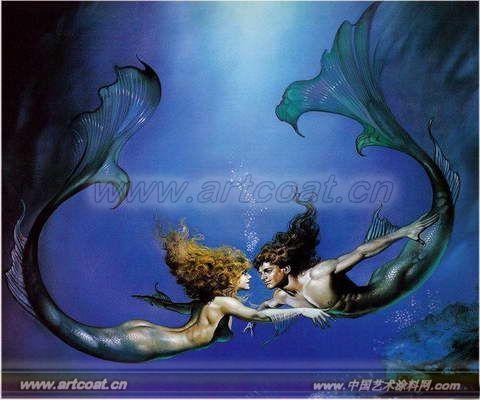 海底世界壁画bh_hd006