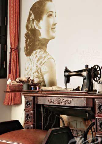 上海老房子的精致家居 摩登家具历久弥新 别墅装修设计 公