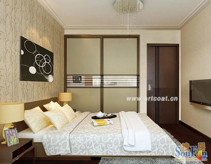 客厅隔出小卧室效果图