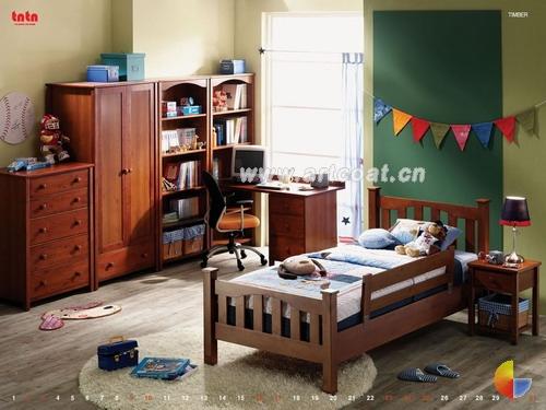 小孩房卧室装修效果图 卧室装修设计 家装设计