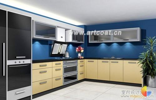 2007最新整体厨房效果图欣赏  厨房装修设计  家装