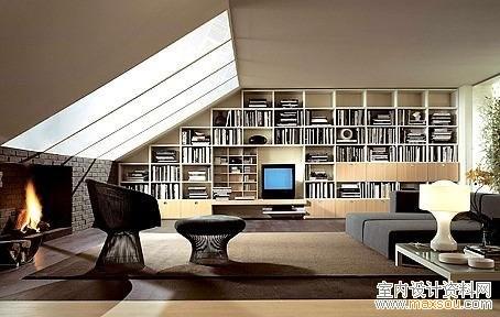 书房设计绘画图