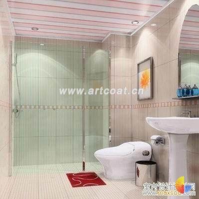 卫生间装修设计之色彩搭配
