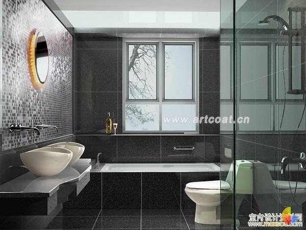 卫生间装修效果图  卫生间装修设计  家装设计  中国