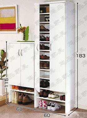 鞋柜装内部结构图