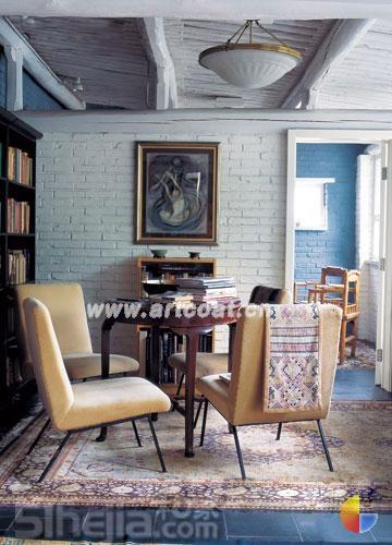 农村房子大改造 有格调的一室