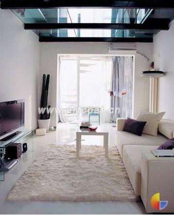 小户型白色沙发搭配的12种方案