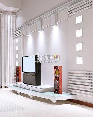 欧式电视背景墙装修 80后人装修新概念