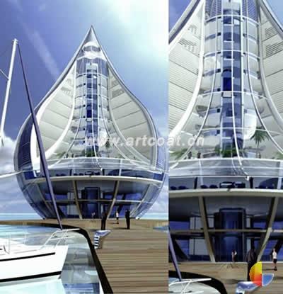 的概念建筑设计