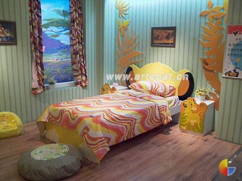 韩国可爱小男孩卧室装修