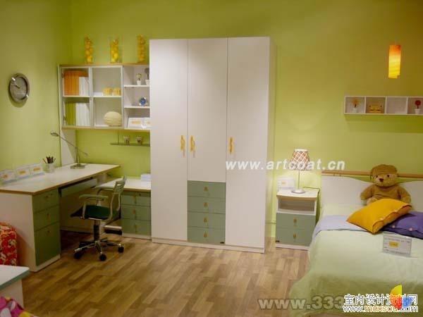 经典儿童房间设计  卧室装修设计  家装设计  中国