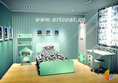 色彩缤纷儿童节 52款儿童房样板间大盘点  卧室装修