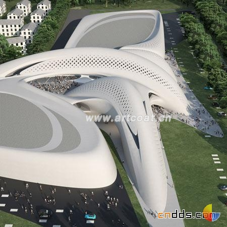解构主义零售商业中心  建筑艺术  设计师专版  中国