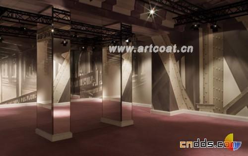 巴黎的新临时店铺  商场装修设计  公装设计  中国