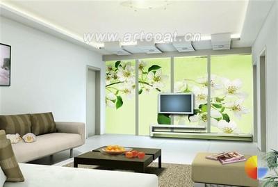 20款手绘墙 现代客厅装修之神  现代风格  装饰风格