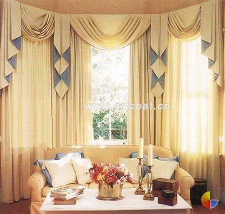 田园型窗帘