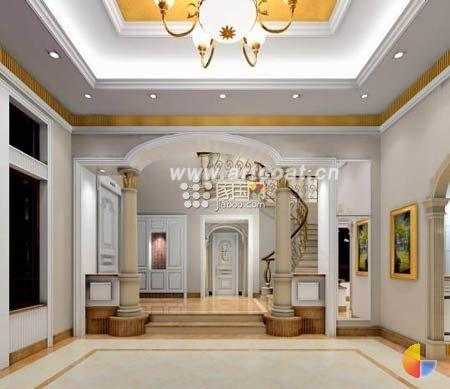 欧式客厅装修 品味独有的高贵典雅
