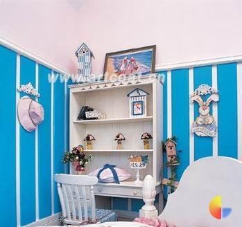 地中海风儿童房可爱温馨的小世界(组图)